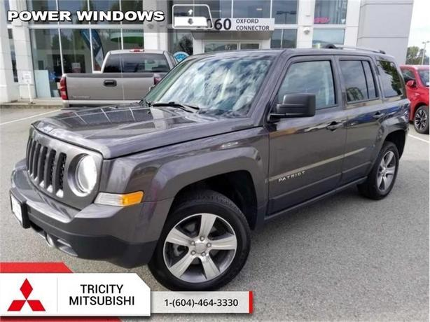 2016 Jeep Patriot High Altitude  HEATED LEATHER-SUNROOF