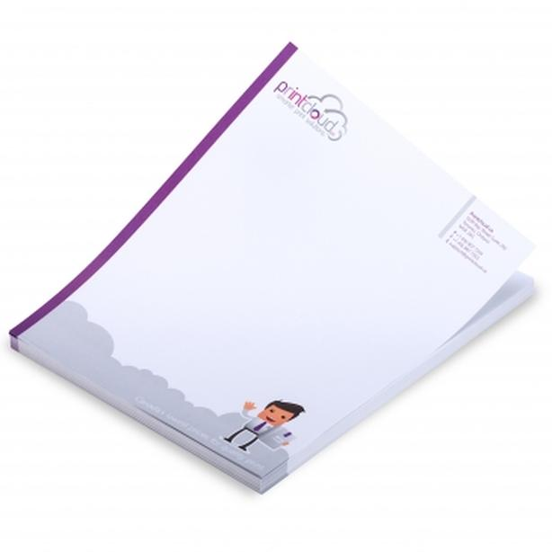 Unmatched Printing Quality of Letter Heads - Printcloud