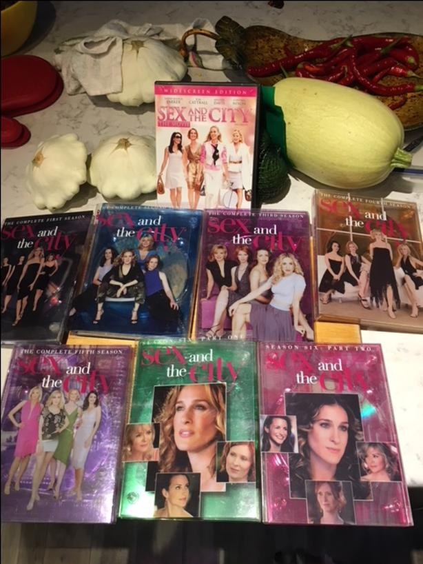 Sex and the city seasons for sale