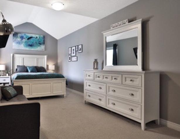 Queen bedroom set white