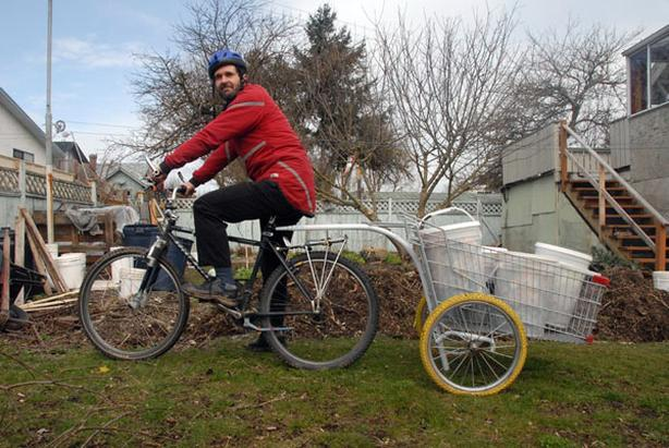Own your own bicycle powered compost company