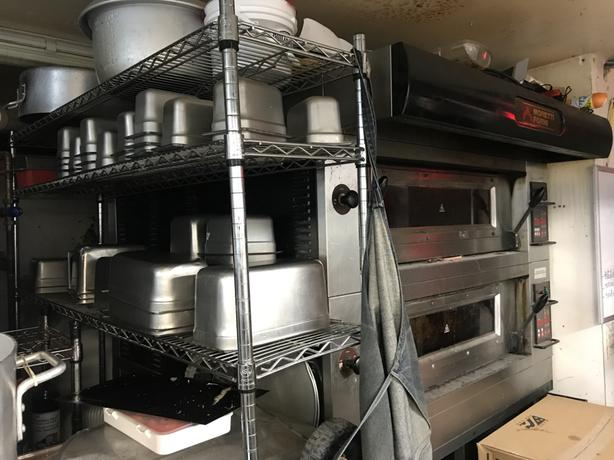 Moretti Forni- 2 door pizza oven