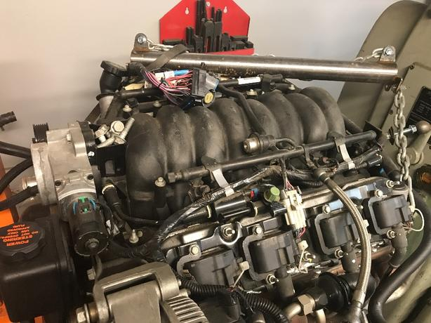 corvette c5 ls1 engine harness and ecu