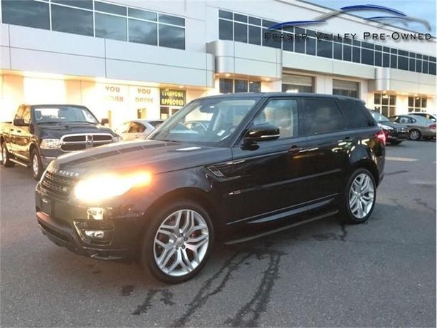 2015 Land Rover Range Rover Sport Autobiography  -Very Low Km! - Like New