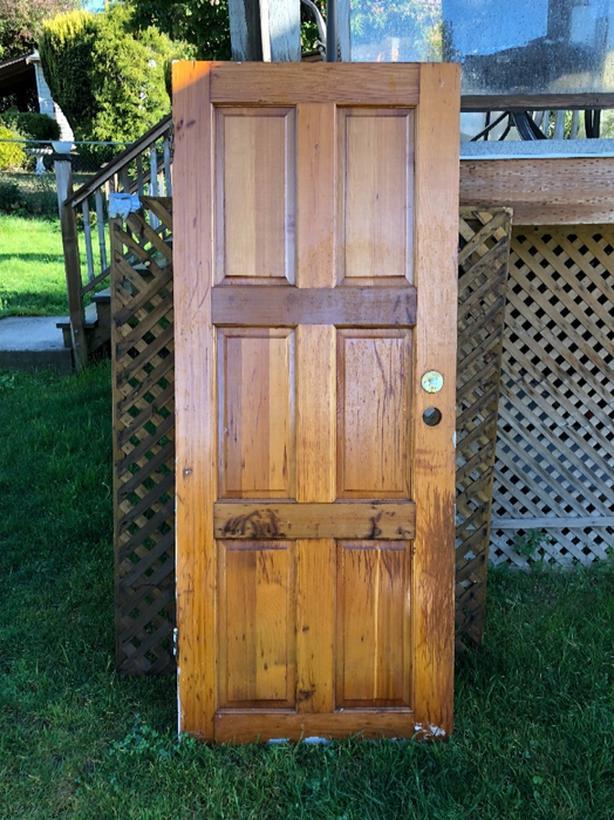 Solid Wood Exterior Door Saanich Victoria