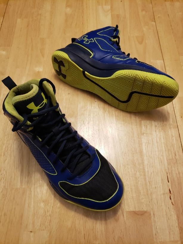 421b24241fe6 Under Armour Clutchfit Mens 8.5 Basketball Shoes Central Nanaimo ...
