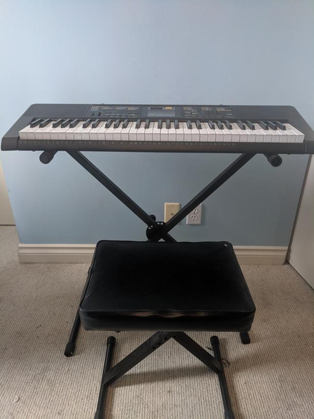  Log In needed $100 · Casio CTK-2400 Keyboard, Stand and Stool