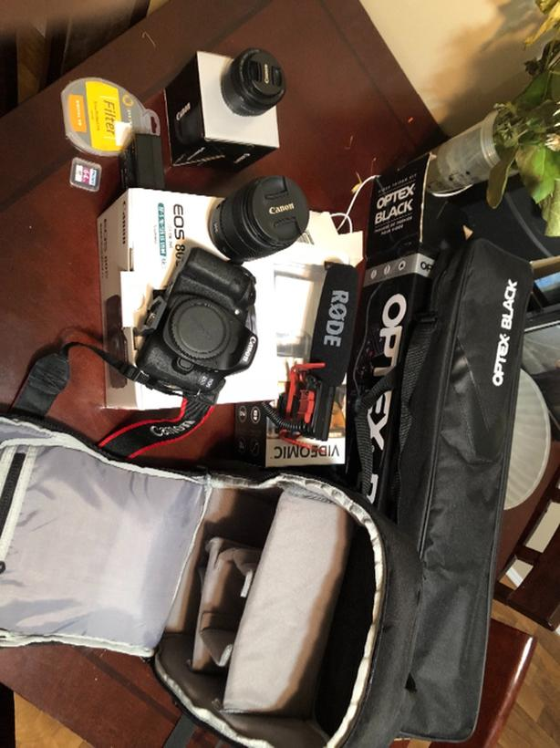  Log In needed $1,900 · Canon 80d and accessories