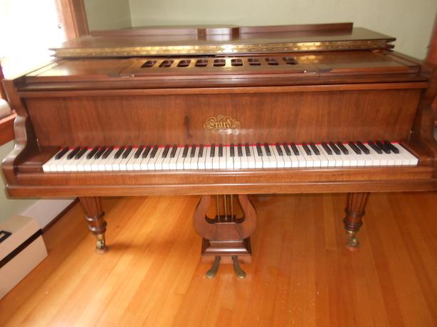 ERARD GRAND PIANO, 1921 - Restored in 2000.