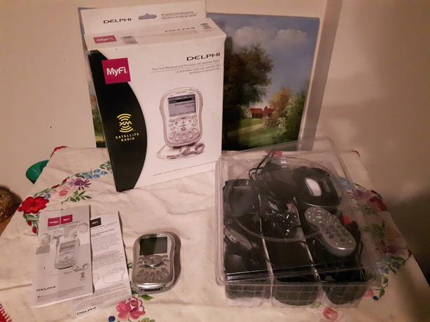 BRAND NEW Delphi XM2Go XM radio (portable with car and home kits)