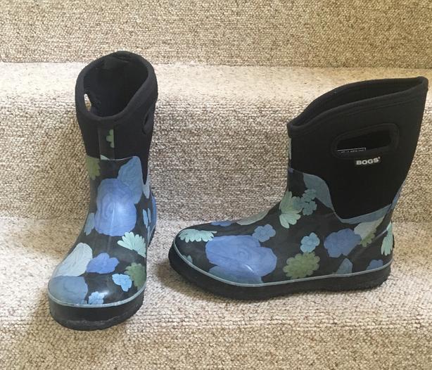 Women's Classic Mid Le Jardin Rain Boots Size 10 US 41 EUR