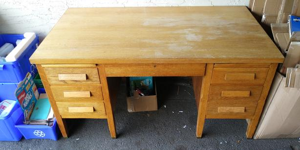 Sturdy Office Desk On Solid Sturdy Office Desk Saanich Victoria