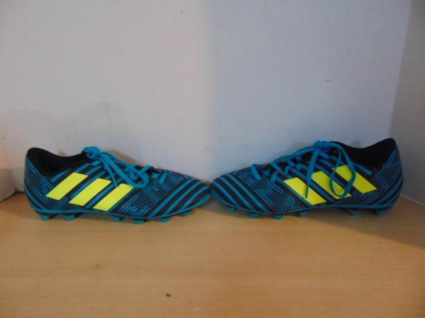 32eee9150 Soccer Shoes Cleats Men  39 s Size 7.5 Adidas Nemesis Teal Black ...