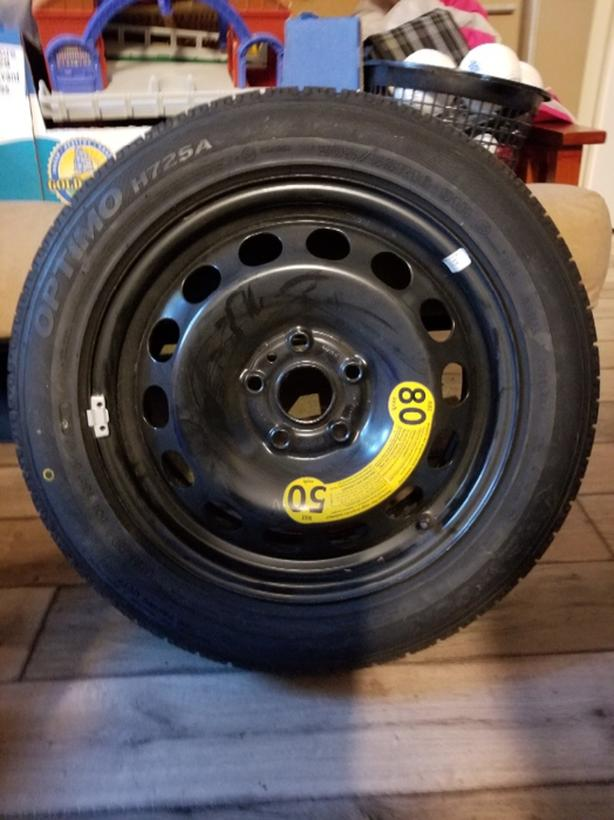 Brand New spare full wheel for VW