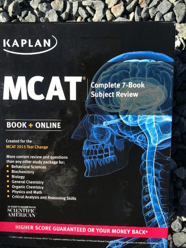 Kaplan MCAT textbook set 75$ Victoria City, Victoria