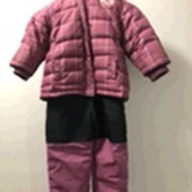 BABY GIRL 2 piece ROOTS snowsuit:  Size 18-24 months