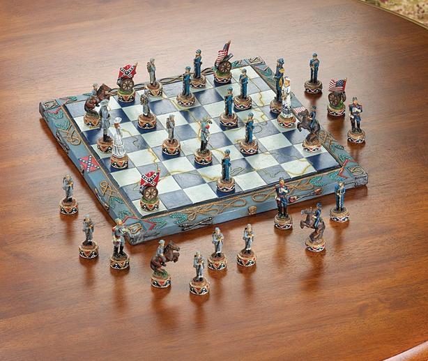 Civil War Chess Set Brand New