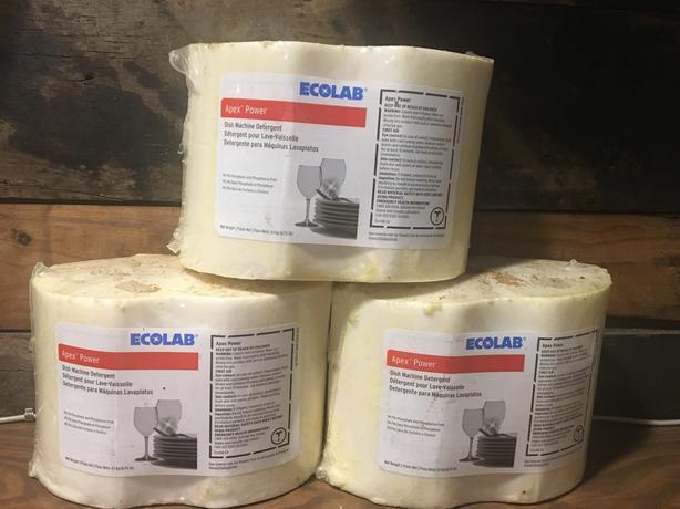 Ecolab Apex Power detergent blocks cheap!