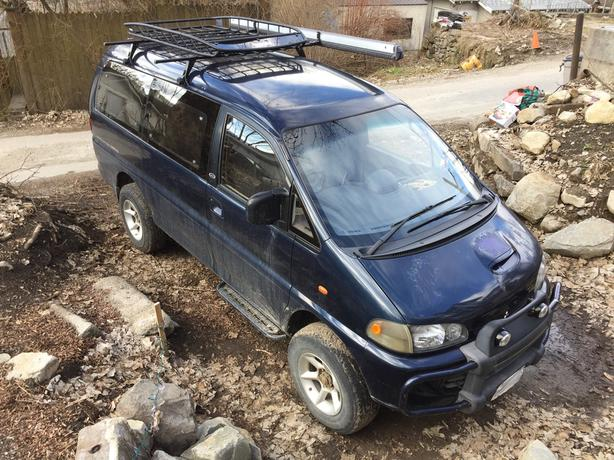 94 Mitsubishi Delica Camperized LWB High Roof