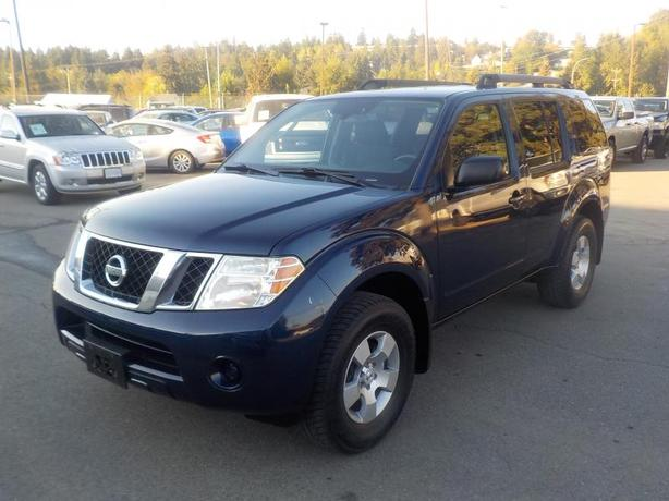 2009 Nissan Pathfinder S 4wd 7 Passenger Outside Cowichan Valley