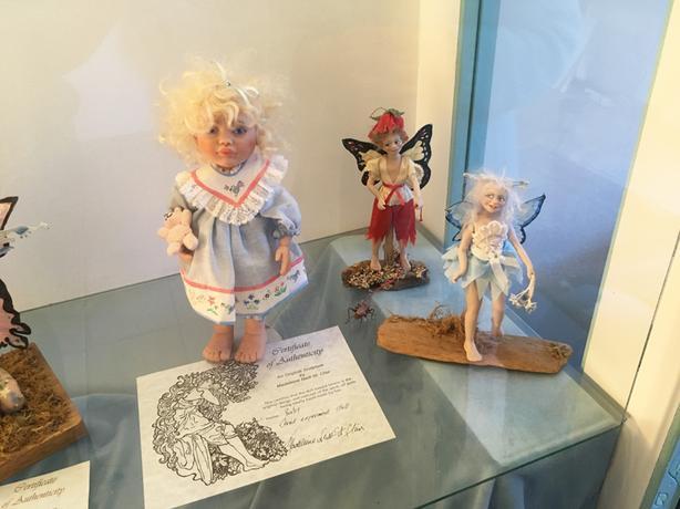 Famed Artist Dolls-Painting, Models, Clayworks