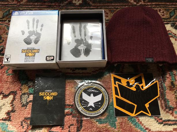 Infamous Second Son Collector's Edition PS4
