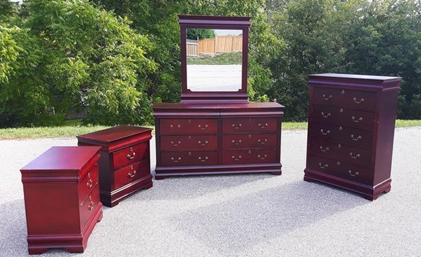 5 Piece Dresser Set