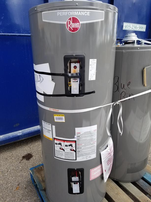 RHEEM ELECTRIC HOT WATER TANK