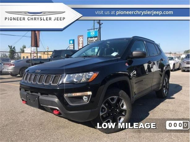 2017 Jeep Compass Trailhawk  -Leather Heat Cool Seats -Panorama Sunroof