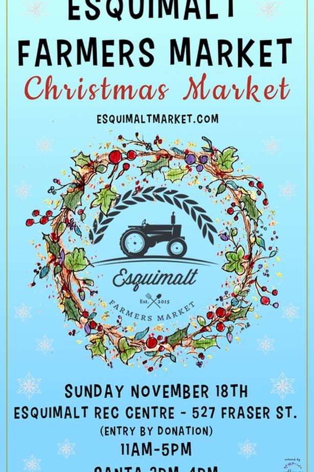 Esquimalt Farmers Market Christmas Market