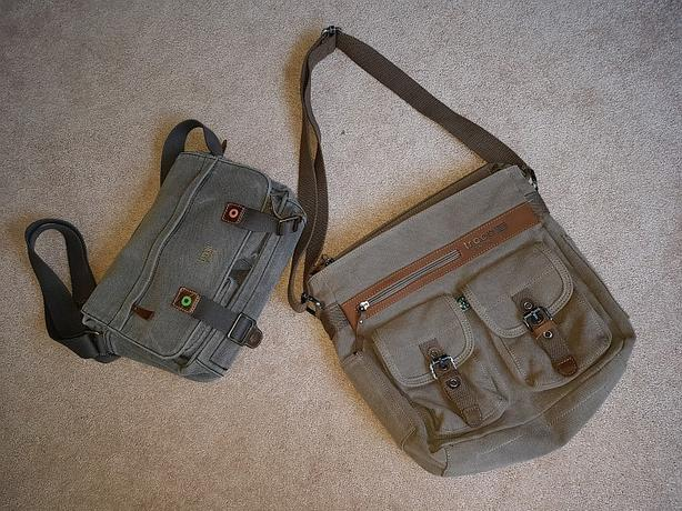 OBO: New Troop London Canvas messenger bag
