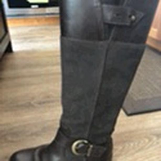Ladies Timberland Brown Full Leather Boots