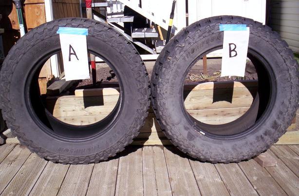 Used Mickey Thompson Baja ATZ tires