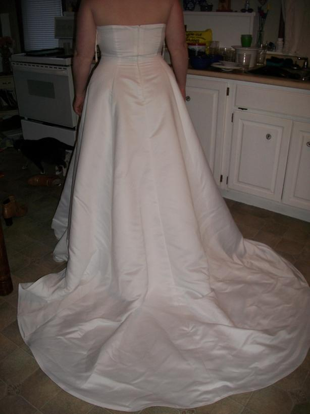 Never worn Size 16 wedding dress