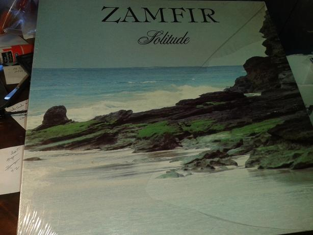 LP ALBUM - ZAMFIR - SOLITUDE