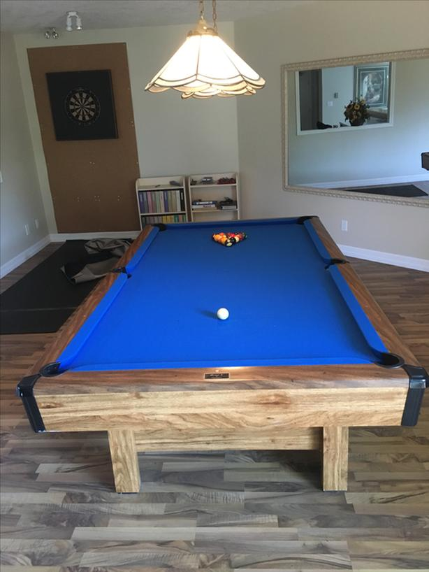 Brunswick X Pool Table Saanich Victoria - 4 x 8 brunswick pool table