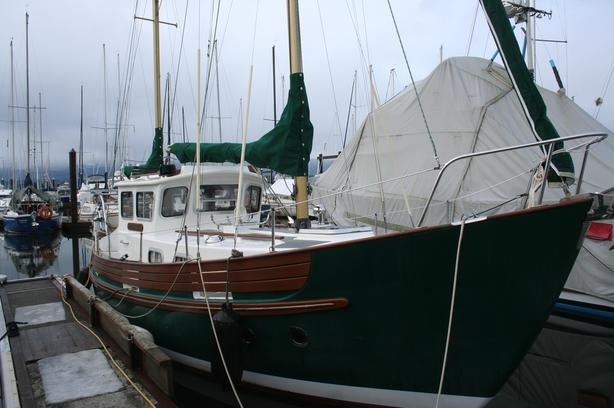1978 Fisher 30 Pilothouse Ketch