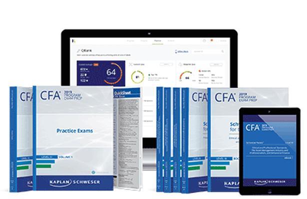 2019 CFA Level 3 Kaplan Schweser Textbooks, Quick Sheet &
