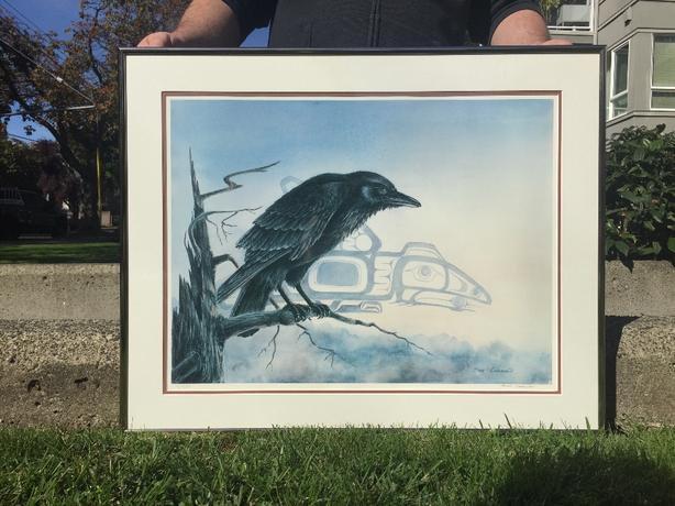 "Sue Coleman ""RAVEN"" Limited Edition *Reduced to sell*"