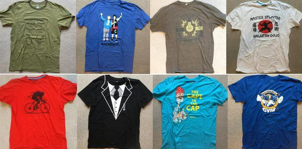 Various Graphic T-shirts (Men's L)