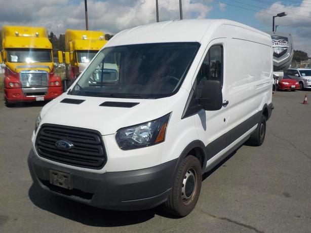 2018 Ford Transit 250 Van Medium Roof 148 inch Wheelbase Cargo Van