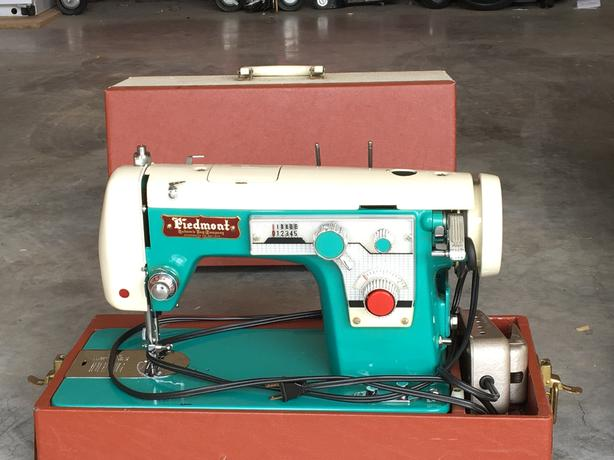 Two older well made Sewing Machines