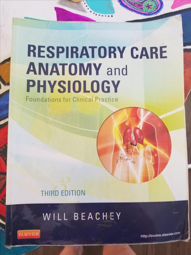 Respiratory Therapy and Anatomy textbooks Esquimalt & View Royal ...
