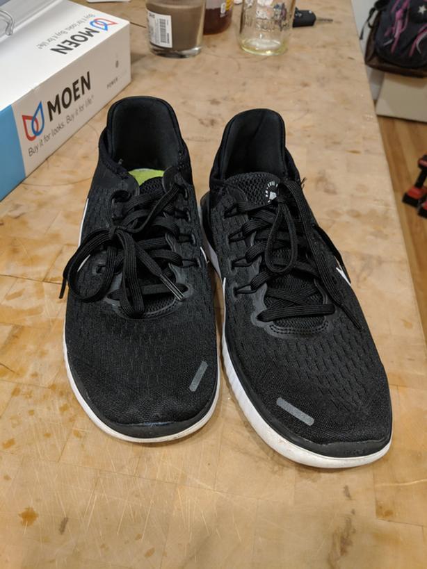 info for 77525 754e5 Nike Women s Free RN 2018 Running Shoes - Black White