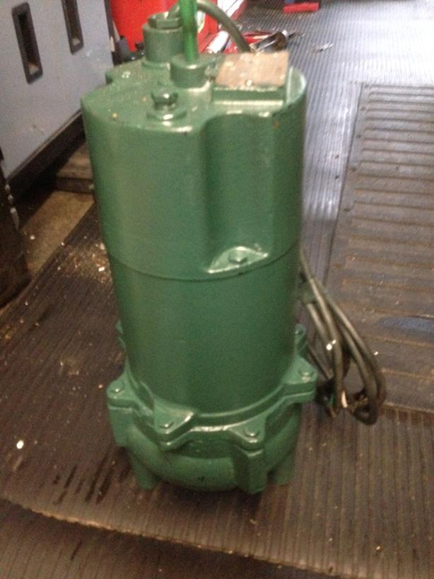 Myers Submersible Wastewater Pump