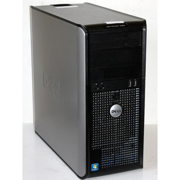 Dell OptiPlex 580 Barebone Desktop PC AMD 2.8GHz Dual Core DVDRW Windows 7