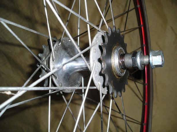 bicycle wheels, Single Speed. Fixie Wheelsets
