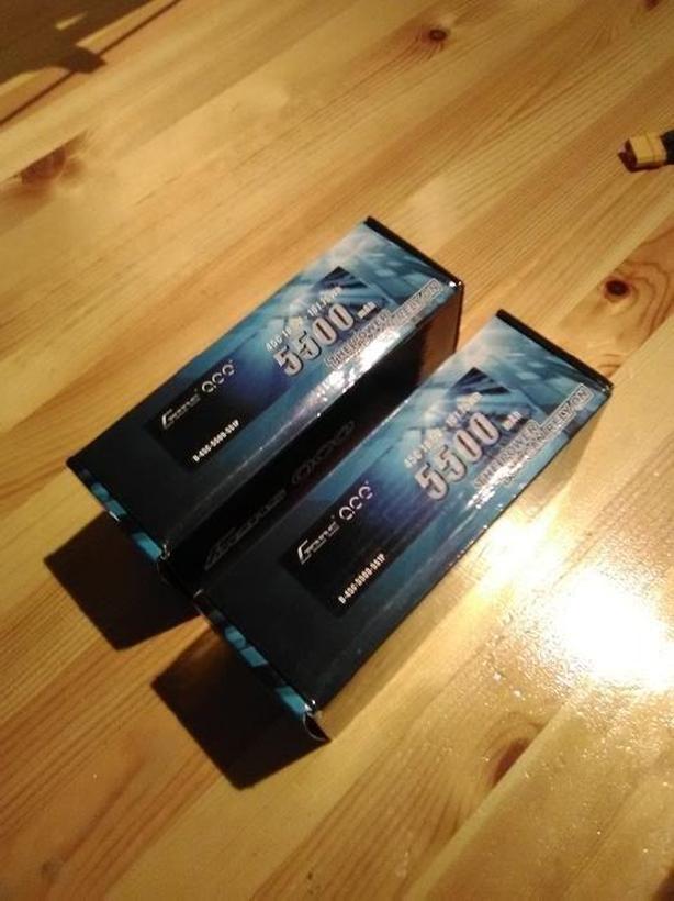 Gens Ace 5500mAh 18 5V 45C 5S LiPo Battery (Brand New