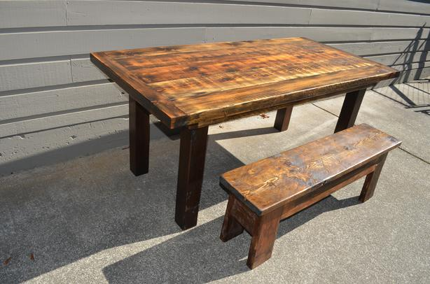 Super Log In Needed 500 Harvest Table And Bench Alphanode Cool Chair Designs And Ideas Alphanodeonline