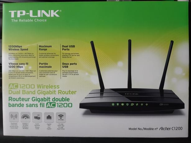 TP-Link AC1200 Dual band gigibit router